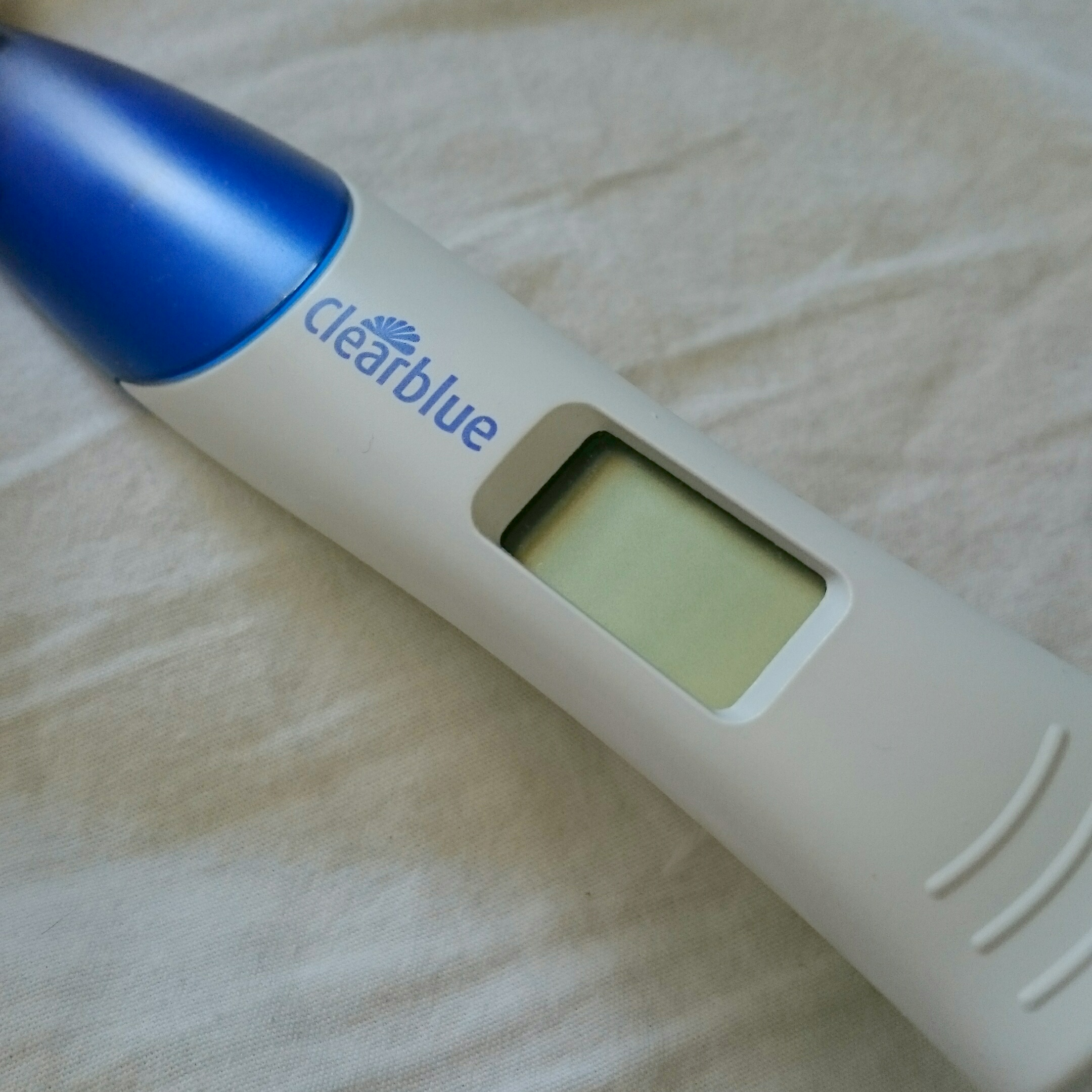 Clear Blue Pregnancy Test