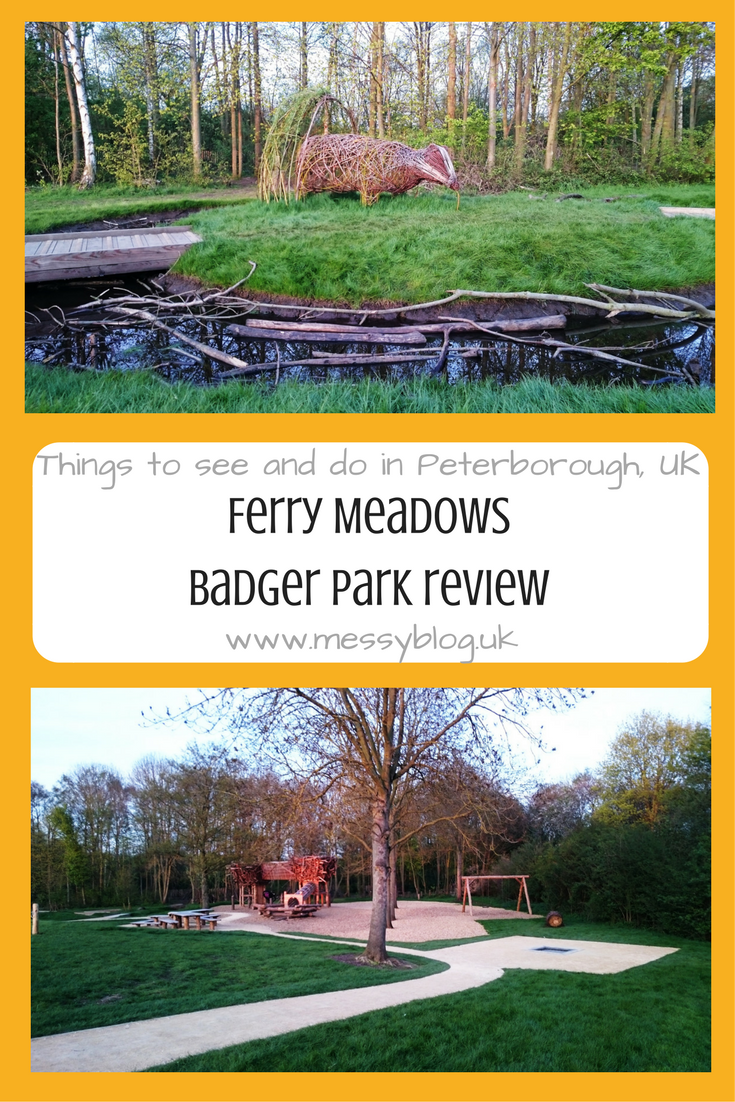 Badger Play Area Ferry Meadows Peterborough