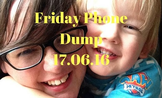 Friday Phone Dump17.06.16