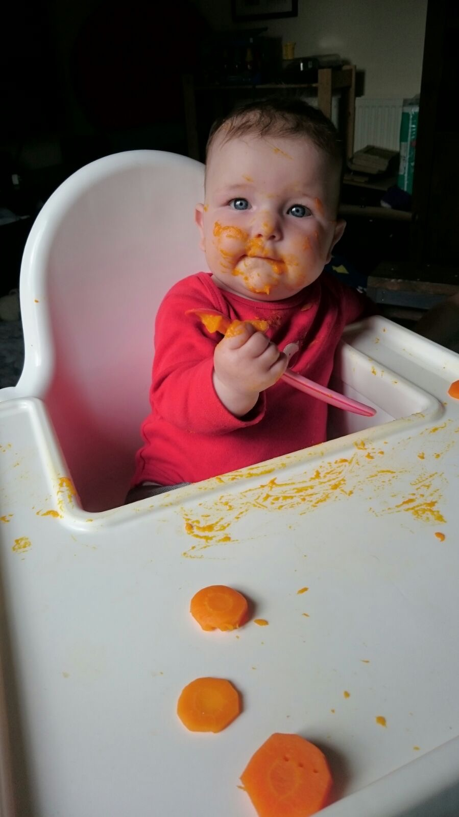Weaning - First tastes