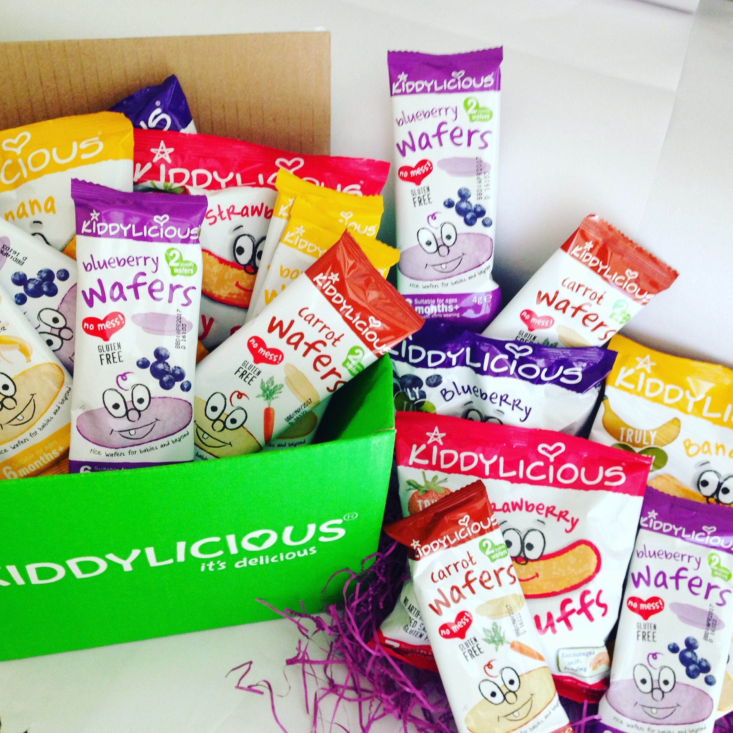 Kiddylicious snacks