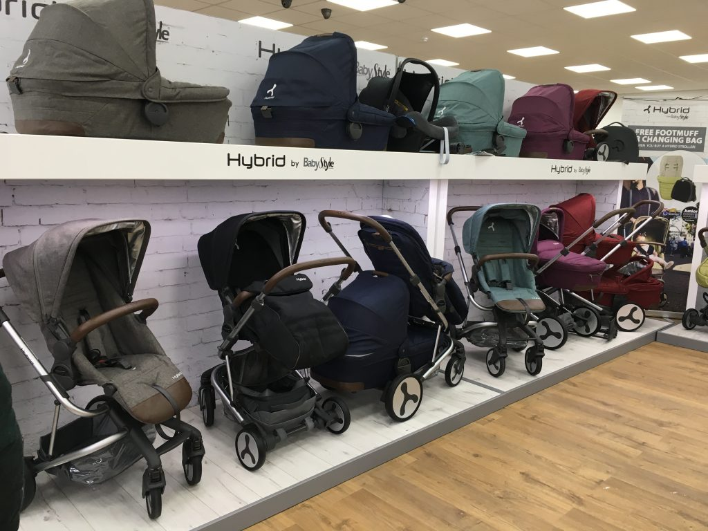 Babystyle Hybrid colour options