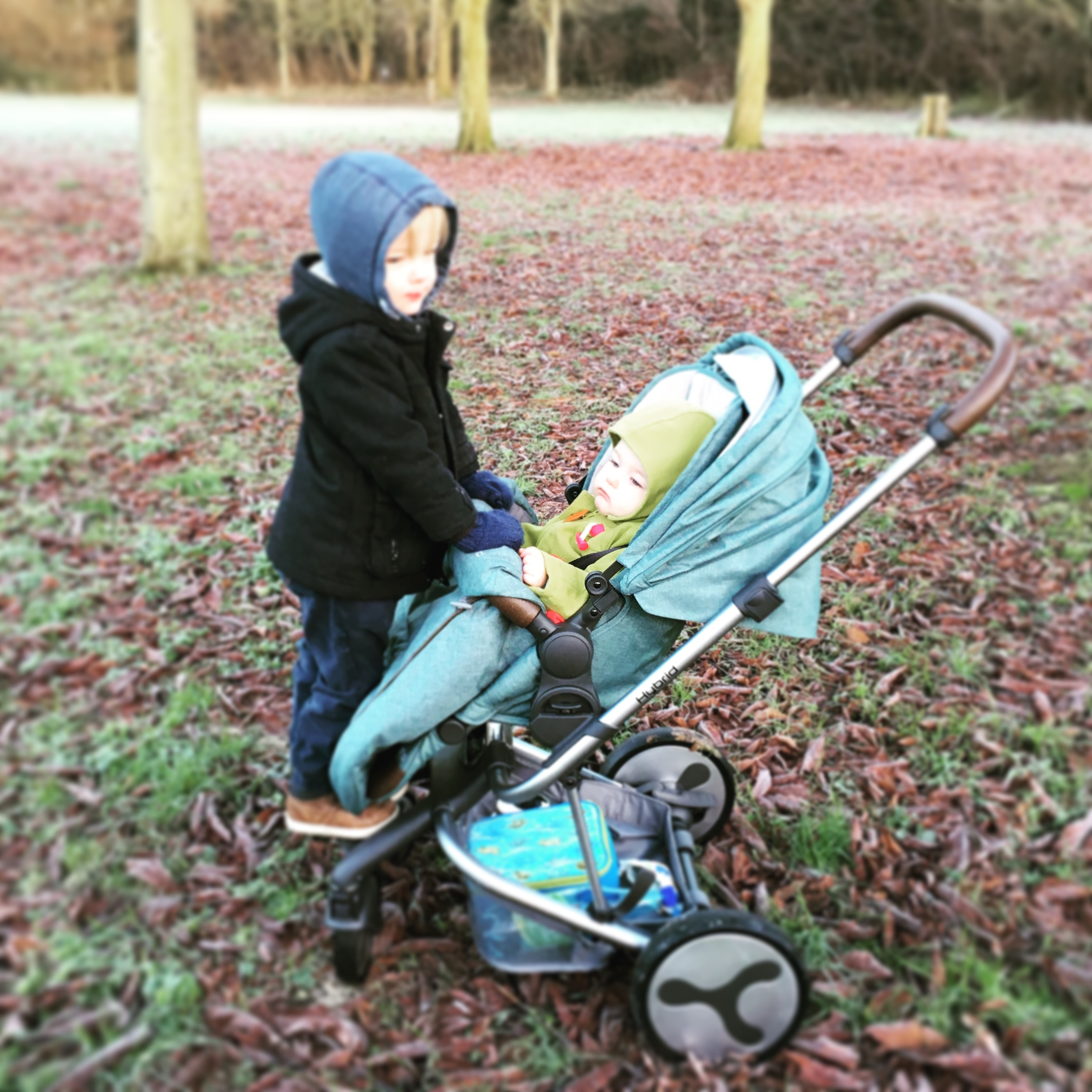 BabyStyle Hybrid Edge in Winter