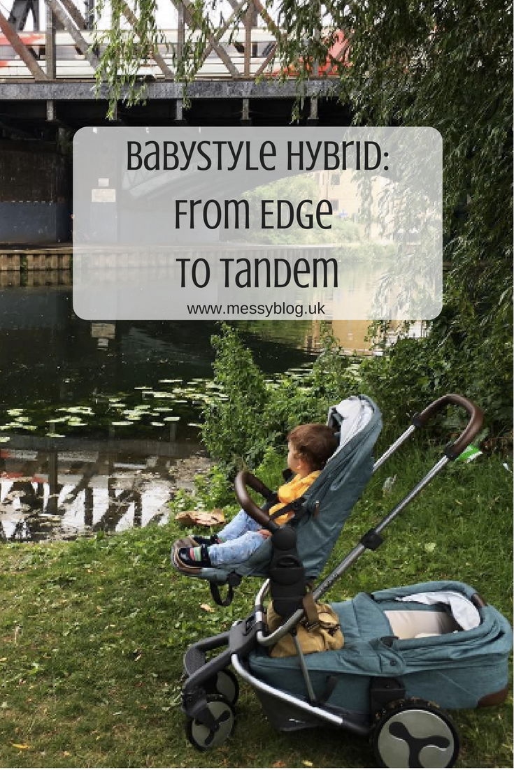 Find out how to convert the Hybrid Edge from babystyle into a tandem model. Video and review included