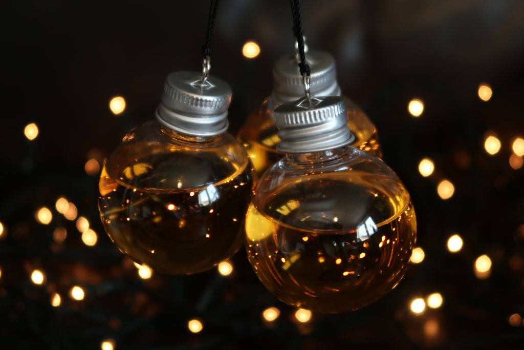 Whiskey Baubles from FindMeAGIft