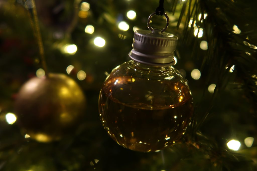 Whiskey Bauble from Find Me A Gift.